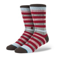 Meia Stance Georgia Red/Blue/Brown