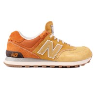 T�nis New Balance Classic Traditionnels ML574RSU Yellow/Orange