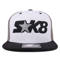 Bon� Starter Snapback Skate Kids Grey/White/Black