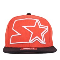 Bon� Starter Snapback Big Logo Orange/Black