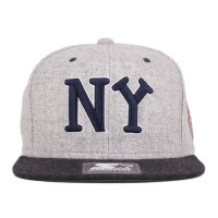 Bon� Starter Snapback New York Black Yankees Mescla Grey/Black