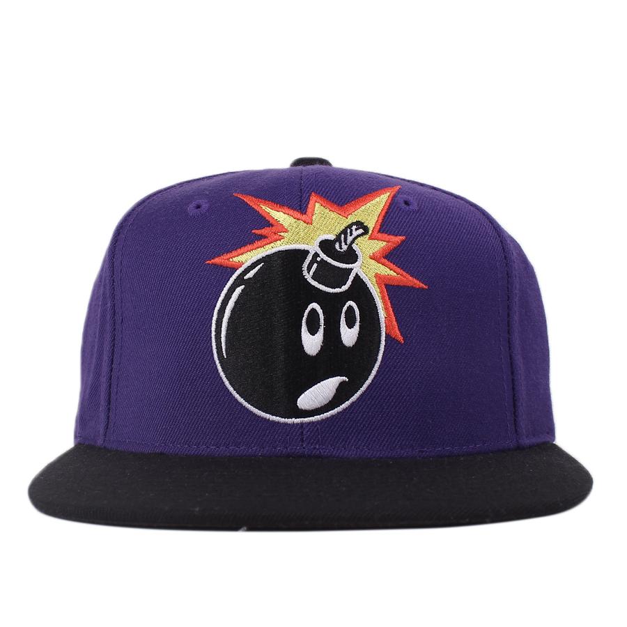 Boné The Hundreds Snapback Logo Purple/Black