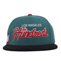 Bon� The Hundreds Strapback Los Angeles The Hundreds Green/Black