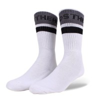 Meia The Hundreds Physical White/Grey/Black