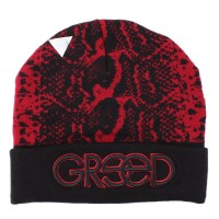 Gorro Cayler and Sons Greed Red/Black