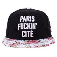 Bon� Cayler And Sons Snapback Throwback Black/White Printed