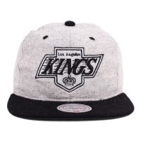 Bon� Mitchell and Ness Strapback Los Angeles Kings Grey/Black