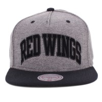 Bon� Mitchell and Ness Snapback Detroit Red Wings Grey/Black