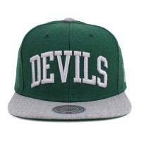 Bon� Mitchell and Ness Snapback New Jersey Devils Green/Grey