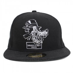 Bon� New Era 59FIFTY Sheriffs Dept Black