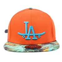 Bon� Official Strapback Floral LA Orange/Floral