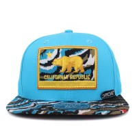 Bon� Official Snapback Cali Blue/Printed