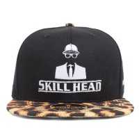 Bon� Skill Head Strapback Logo On�a Premium Black/On�a
