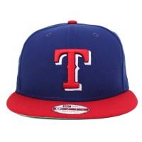 Bon� New Era 9FIFTY Snapback Texas Rangers Royal/Red
