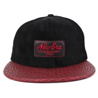Bon� New Era 9FIFTY Strapback Established 1920 Black/Wine