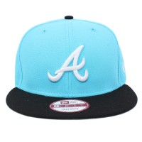 Bon� New Era 9FIFTY Snapback Atlanta Braves Blue/Black