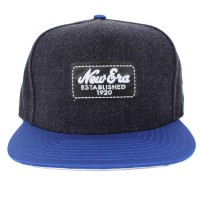 Bon� New Era 9FIFTY A-Frame Strapback Established Jeans Black/Royal