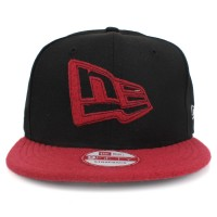 Bon� New Era 9FIFTY Strapback New Era Logo Black/Red
