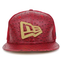 Bon� New Era 9FIFTY Strapback New Era Logo Red/Gold