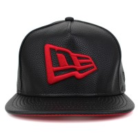 Bon� New Era 9FIFTY A-Frame Strapback New Era Logo Black/Red