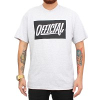 Camiseta Official Script Grey
