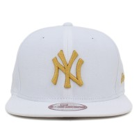 Bon� New Era 9FIFTY Snapback ORIGINAL FIT New York Yankees White/Gold