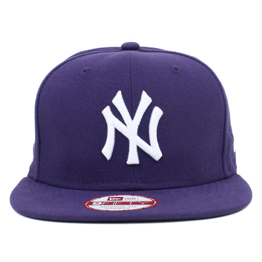 Boné New Era 9FIFTY Strapback ORIGINAL FIT New York Yankees Purple - MLB