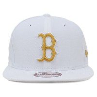 Bon� New Era 9FIFTY Snapback ORIGINAL FIT Boston Red Sox White/Gold