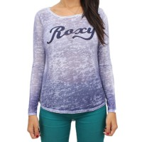 Camiseta Roxy Manga Longa Especial Color Purple