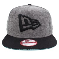 Bon� New Era 9FIFTY A-Frame Strapback Logo Mescla Grey/Black
