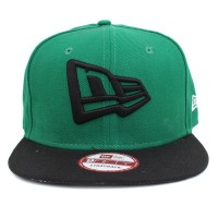 Bon� New Era 9FIFTY A-Frame Strapback Logo Mescla Green/Black