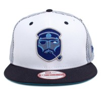 Bon� New Era 9FIFTY Snapback One Size White/Navy