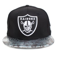 Bon� New Era 9FIFTY Strapback Oakland Raiders Black/Printed