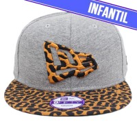 Bon� New Era 9FIFTY YOUTH Strapback Logo Grey/On�a