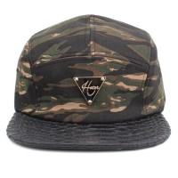 Bon� Hater Five Panel Strapback FP0004-TC Camo/Black