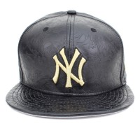Bon� New Era 59FIFTY New York Yankees Black/Gold