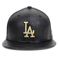 Bon� New Era 59FIFTY Los Angeles Dodgers Black/Gold