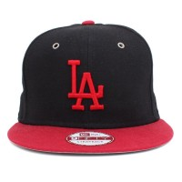 Bon� New Era 9FIFTY Strapback Los Angeles Dodgers Black/Red