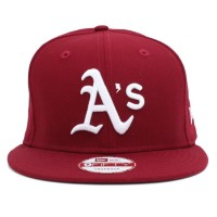 Bon� New Era Snapback Oakland Athletics Wine