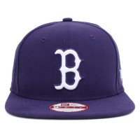 Bon� New Era 9FIFTY Snapback ORIGINAL FIT Boston Red Sox Purple