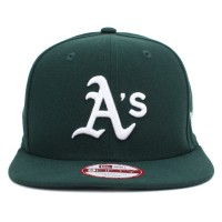 Bon� New Era 9FIFTY Snapback ORIGINAL FIT Oakland Athletics Green
