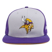 Bon� New Era 9FIFTY Snapback ORIGINAL FIT Minnesota Vikings Purple/Grey
