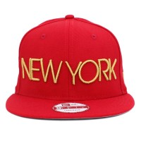 Bon� New Era 9FIFTY Snapback New York Red/Gold