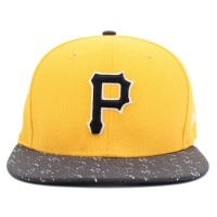 Bon� New Era 9FIFTY Strapback ORIGINAL FIT Pittsburgh Pirates Yellow/Black