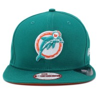 Bon� New Era 9FIFTY Original Fit Snapback Miami Dolphins Green