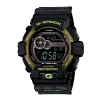 Rel�gio Casio G-Shock Camo Black/Green