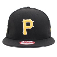 Bon� New Era 9FIFTY Snapback Pittsburgh Pirates Black