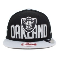 Bon� New Era 9FIFTY Snapback Oakland Raiders Black/Grey