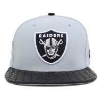Bon� New Era 9FIFTY Strapback Oakland Raiders Grey/Black