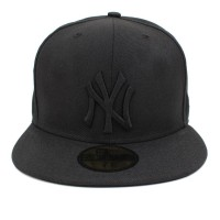 Bon� New Era 59FIFTY New York Yankees Black/Black